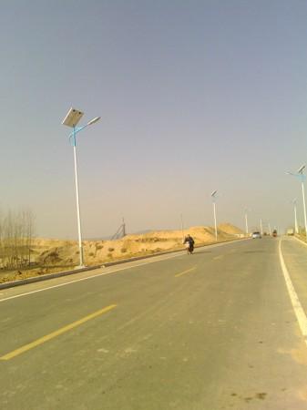 泰安市255国道太阳能路灯工程