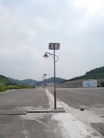 济南国际赛马场太阳能路灯